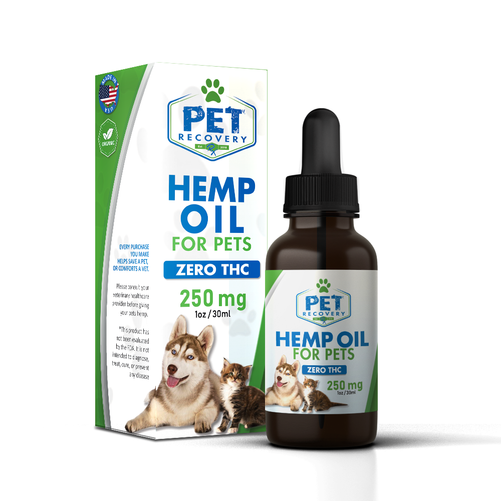 250mg hemp oil for pets