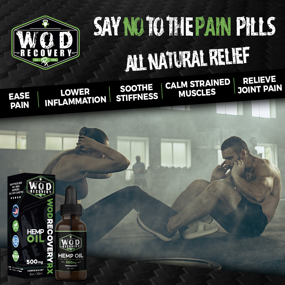 wod recovery rx hemp oil benefits