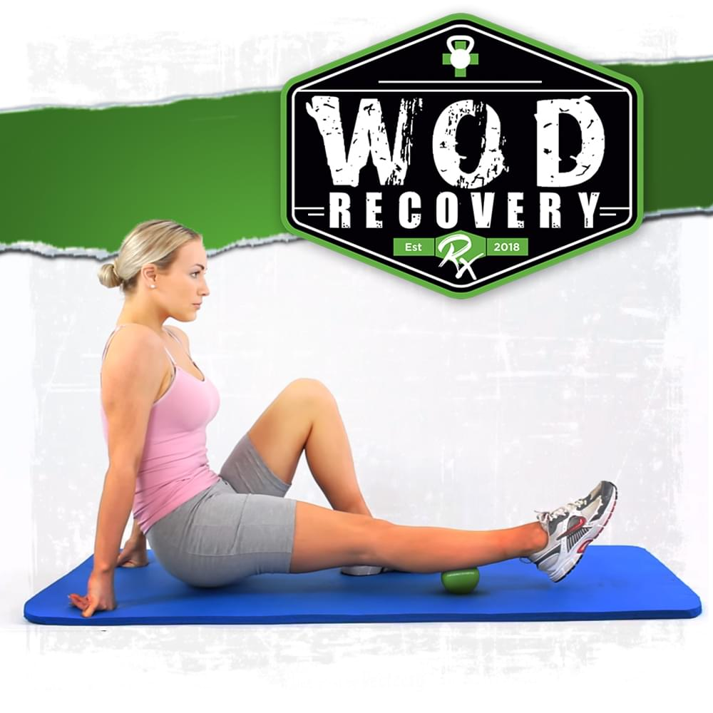 wod recovery rx massage ball usage demonstration