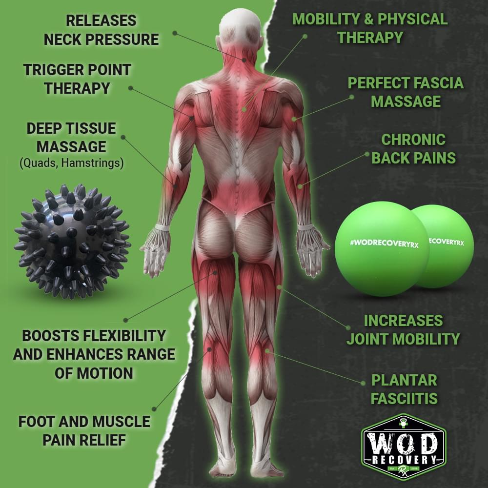massage ball set fascia release benefits