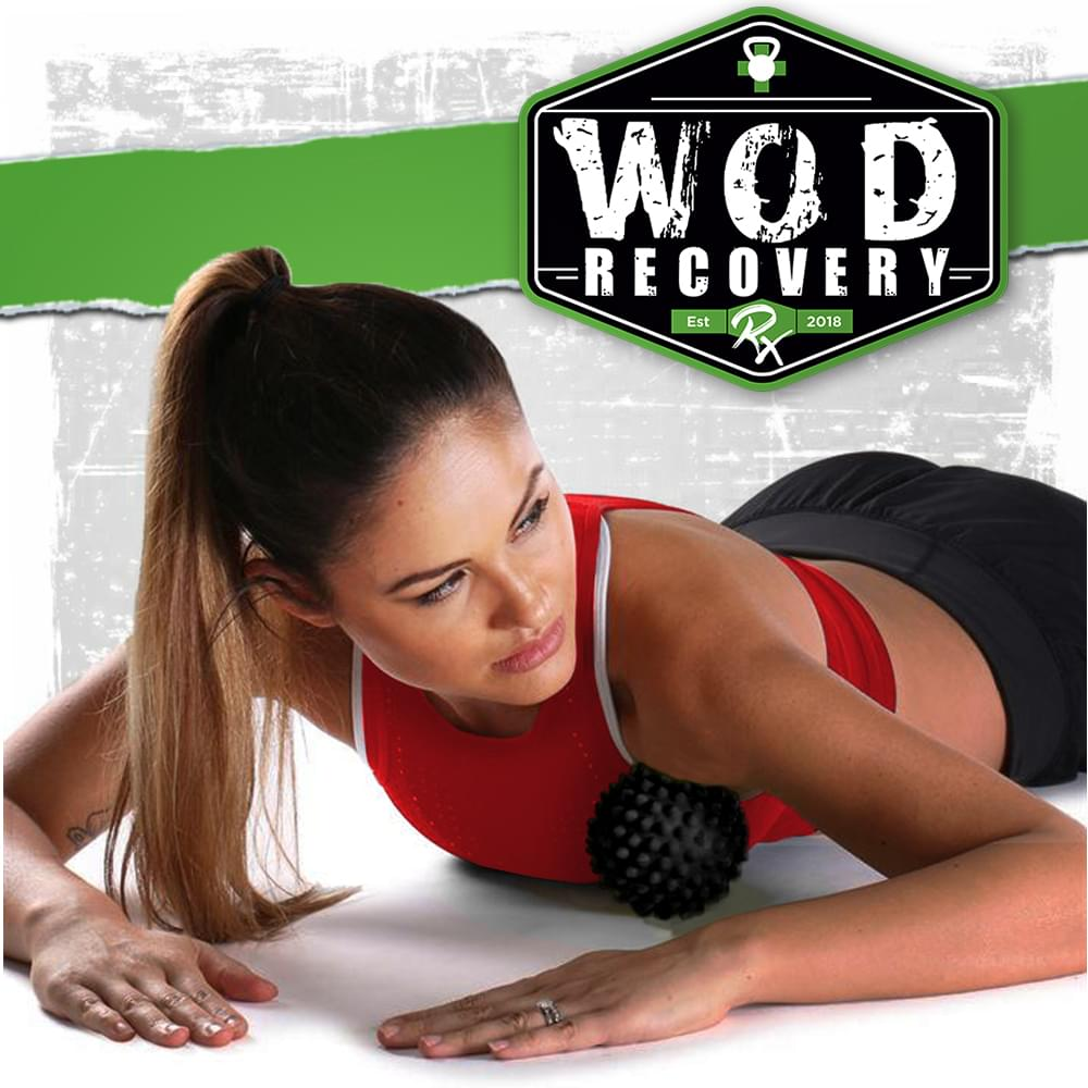 wod recovery rx massage ball usage on the body