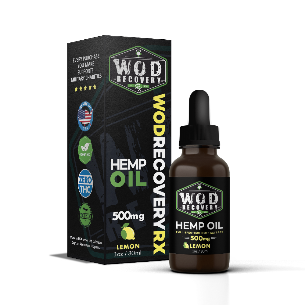 lemon hemp oil 500mg