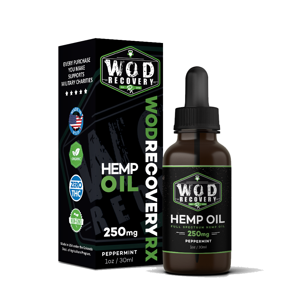 peppermint hemp oil 250mg